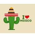 mexican icon design vector image