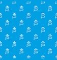 Question pattern seamless blue