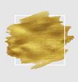 sale golden blot vector image vector image
