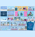 travel bundle airport facade tickets and vector image vector image