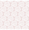 White roses seamless lace pattern vector image vector image