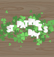 st patricks day vector image