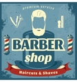 Barber Shop Retro Style Poster vector image