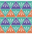 Bright and Colour Geometric Seamless Pattern vector image