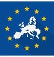 European union flag design vector image