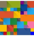 flat design label panels vector image