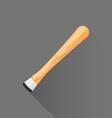 flat style barman muddler icon vector image vector image