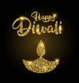 Glittery diwali background