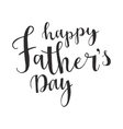 Greeting card template for Father Day vector image