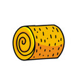 haystack cartoon icon vector image