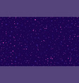 seamless dot pattern in purple randomly disposed vector image