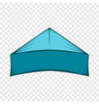 search navigator icon cartoon style vector image vector image