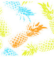 tropical fruit on a white background bright vector image vector image
