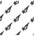 shooting star seamless pattern vector image