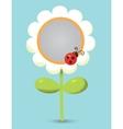 Flower-frame vector image
