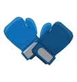 boxing gloves equipment icon vector image vector image