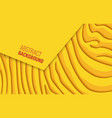 bright yellow horizontal abstract background a vector image