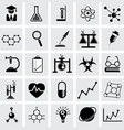 chemistry and science icon vector image