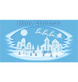 new year christmas stylized framework an image vector image vector image