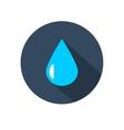 raindrop icon vector image vector image