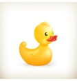 Rubber duck vector image vector image