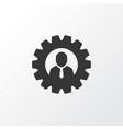 team head icon symbol premium quality isolated vector image