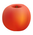 eco peach mockup realistic style vector image