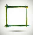 Frame Watercolor vector image