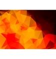 Multicolored background polygon vector image vector image