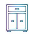 ofice drawers icon vector image
