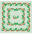 strawberry frame 2 380 vector image