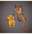 Tabby Cats vector image vector image