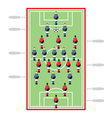 Table Football vector image vector image