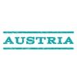 Austria Watermark Stamp vector image