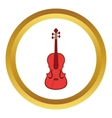Cello icon vector image vector image