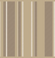 coffee color striped backround seamless pattern vector image vector image