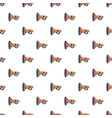 cute toy trumpet pattern seamless vector image vector image