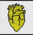 heart modern element vector image vector image