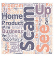 How To Tell If A Home Based Business Is A Scam vector image vector image
