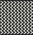 seamless pattern vertical curly zig zag lines vector image