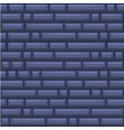 seamless texture placing blue stone wall vector image vector image