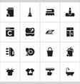 set of 16 editable cleaning icons includes vector image vector image
