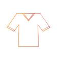 shirt v neck icon image vector image vector image