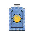 sun bronzer isolated vector image