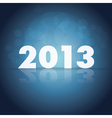 2013 year vector | Price: 1 Credit (USD $1)