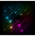 Abstract colorful glow background vector image vector image