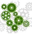 abstract mechanism vector image vector image