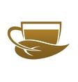 Bio organic tea vector image