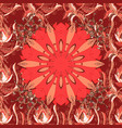 cute seamless pattern with a small flower in a vector image vector image