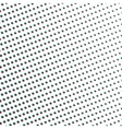 Glitch Dots Halftone Geometry Background or vector image vector image